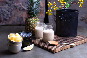 Pineapple Peanut Butter Smoothie