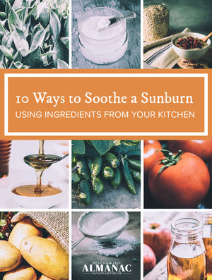 How to Soothe a Sunburn Using Ingredients from Your Kitchen