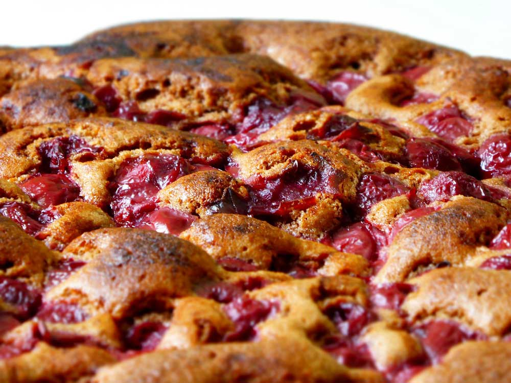 Sour Cherry Clafouti