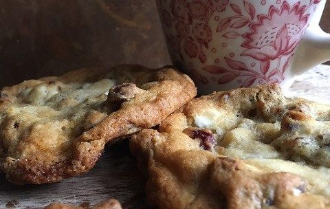 Brent's White Chocolate Cranberry Pecan Cookies
