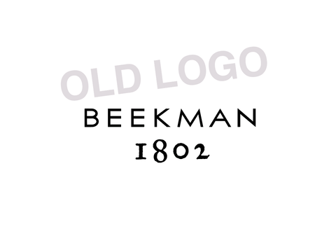 The old Beekman 1802 logo.