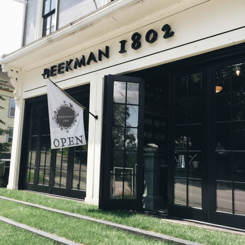The front of the Beekman 1802 Mercantile.