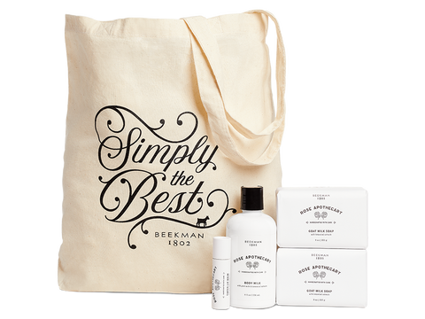 Rose Apothecary Tote Bundle