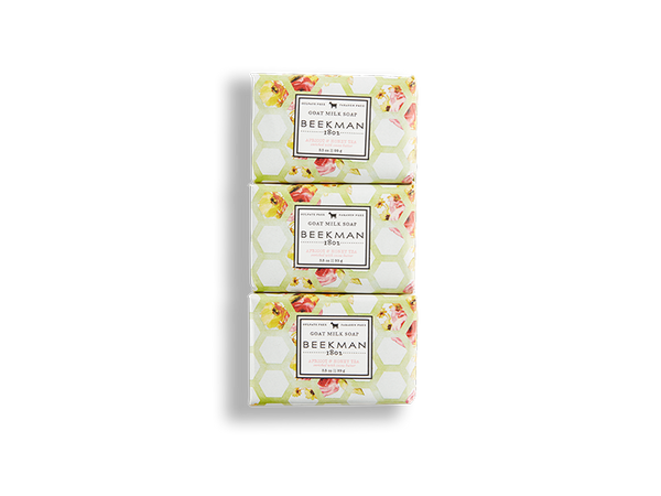 Apricot & Honey Tea 3.5 oz 3-Pack Bar Soaps