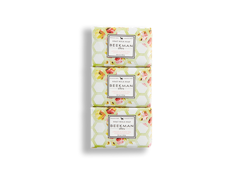 Apricot & Honey Tea 3.5 oz 3-Pack Bar Soaps - Beekman 1802