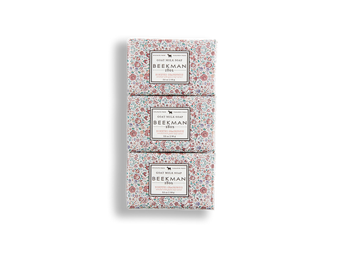 Honeyed Grapefruit 3.5 oz 3-Pack Bar Soaps - Beekman 1802