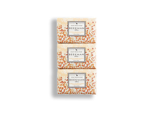 Honey & Orange Blossom 3.5 oz 3-Pack Bar Soaps
