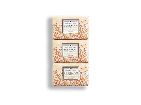 Honey & Orange Blossom 3.5 oz 3-Pack Bar Soaps - Beekman 1802