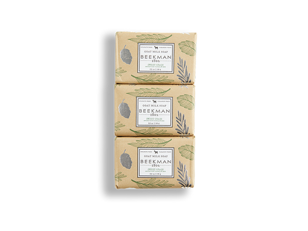 Sweet Grass 3.5 oz 3-Pack Bar Soap