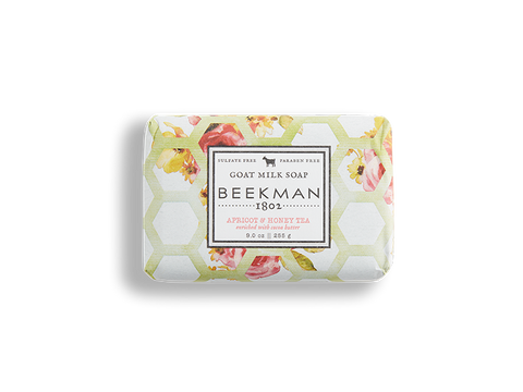 Apricot & Honey Tea Goat Milk Bar Soap - Beekman 1802