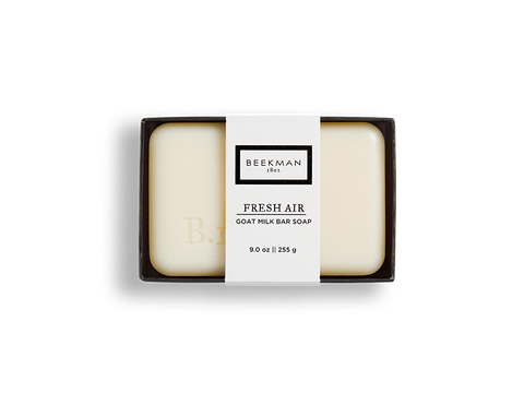 Fresh Air Goat Milk Soap - Beekman 1802