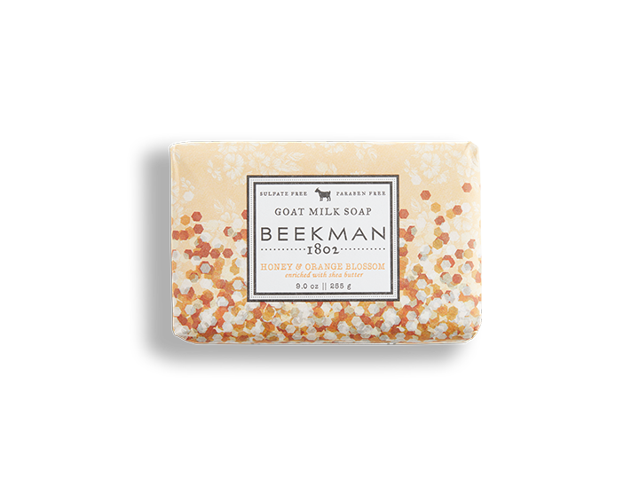 Honey & Orange Blossom Goat Milk Soap - Beekman 1802