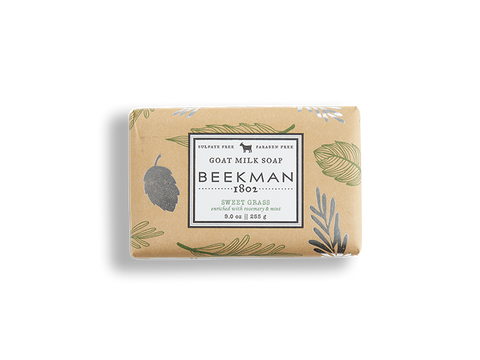 Sweet Grass Goat Milk Soap - Beekman 1802