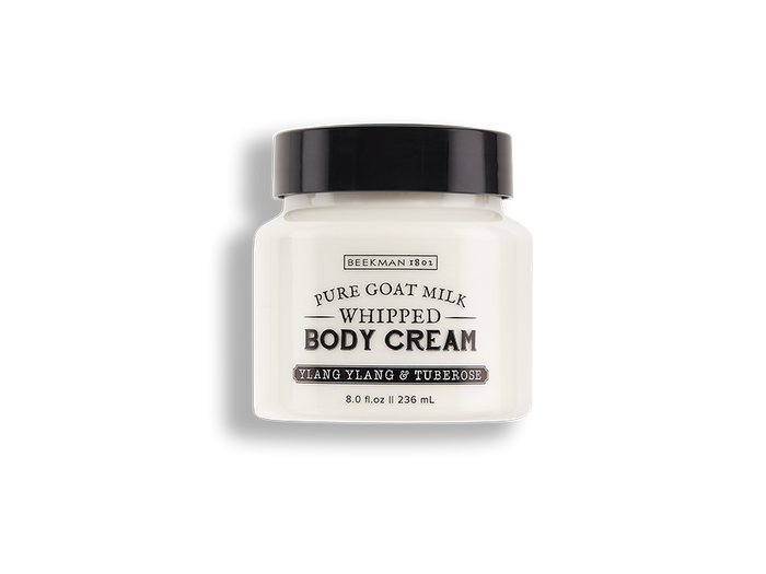 Ylang Ylang  & Tuberose Whipped Goat Milk Body Cream
