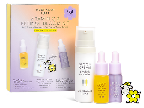 Vitamin C and Retinol Brighten and Resurface Bloom Kit