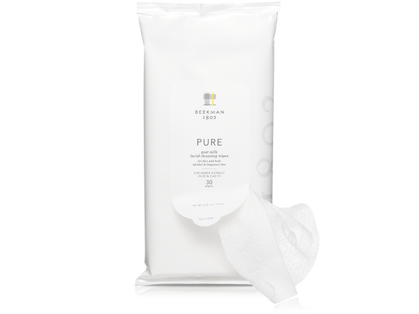 Pure Goat Milk Facial Cleansing Wipes
