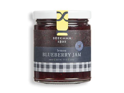 Blueberry Lemon Jam - Beekman 1802