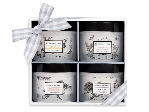 Smooth as Honey 4-Piece Whipped Body Cream Sampler
