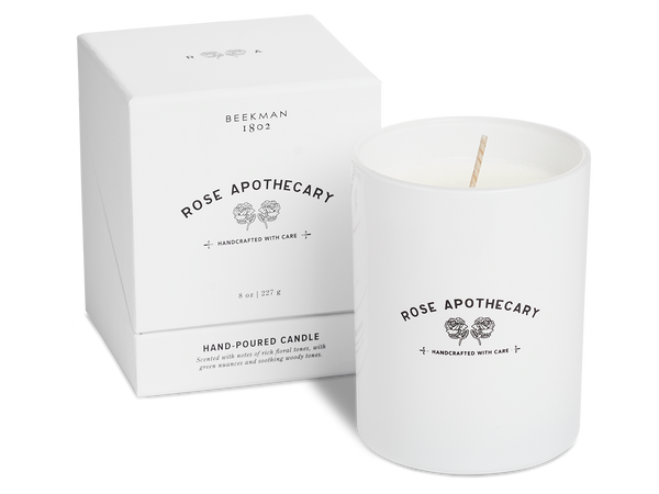 Rose Apothecary Large Candle
