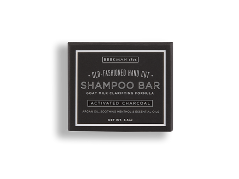 Activated Charcoal  Shampoo Bar - Beekman 1802