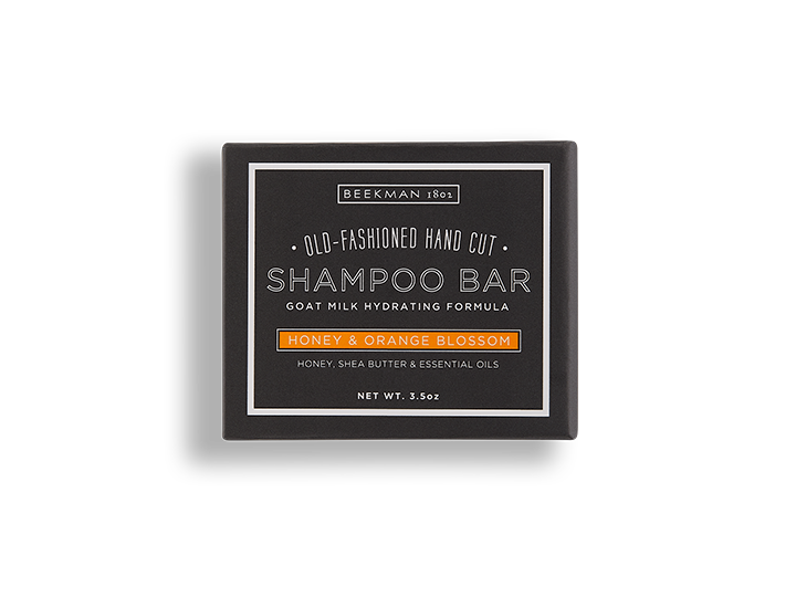 Honey Orange Blossom Shampoo Bar