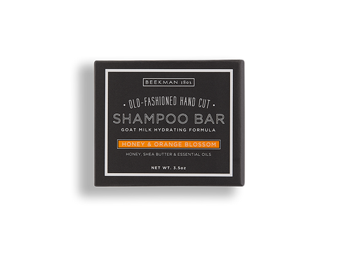 Honey & Orange Blossom Shampoo Bar - Beekman 1802