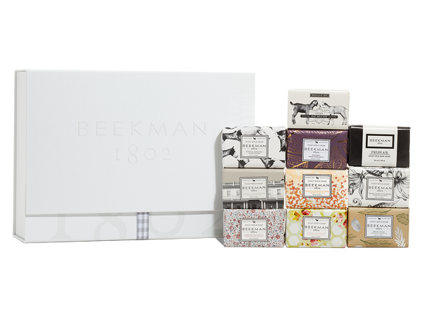 The Mini Bar 10-Piece Travel Sized Soap Set