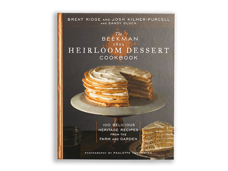 The Heirloom Dessert Cookbook - Autographed