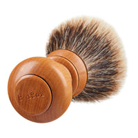 Hand Turned Wooden Shave Brush
