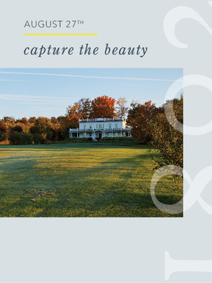 Capture the Beauty - 8/27/20