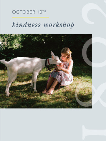 Kindness Workshop - 10/10/20
