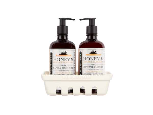 Honey & Orange Blossom Hand Care Duo Caddy Set