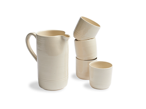 The Dutch Apple Ceramic Set of 5 Drinkware