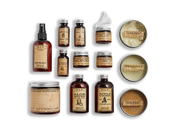 D.I.Y. Apothecary Kit Set of 11