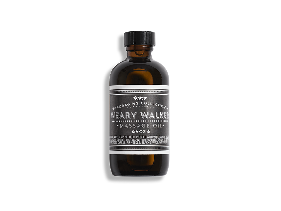 Weary Walker Massage Oil - Beekman 1802