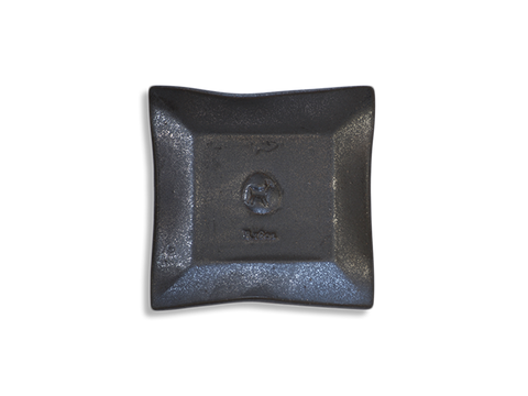 Gunmetal Black Ceramic Goat Soap Dish - Beekman 1802