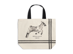 "2020 Limited Edition ""Leap of Faith"" Baby Goat Tote - Beekman 1802"