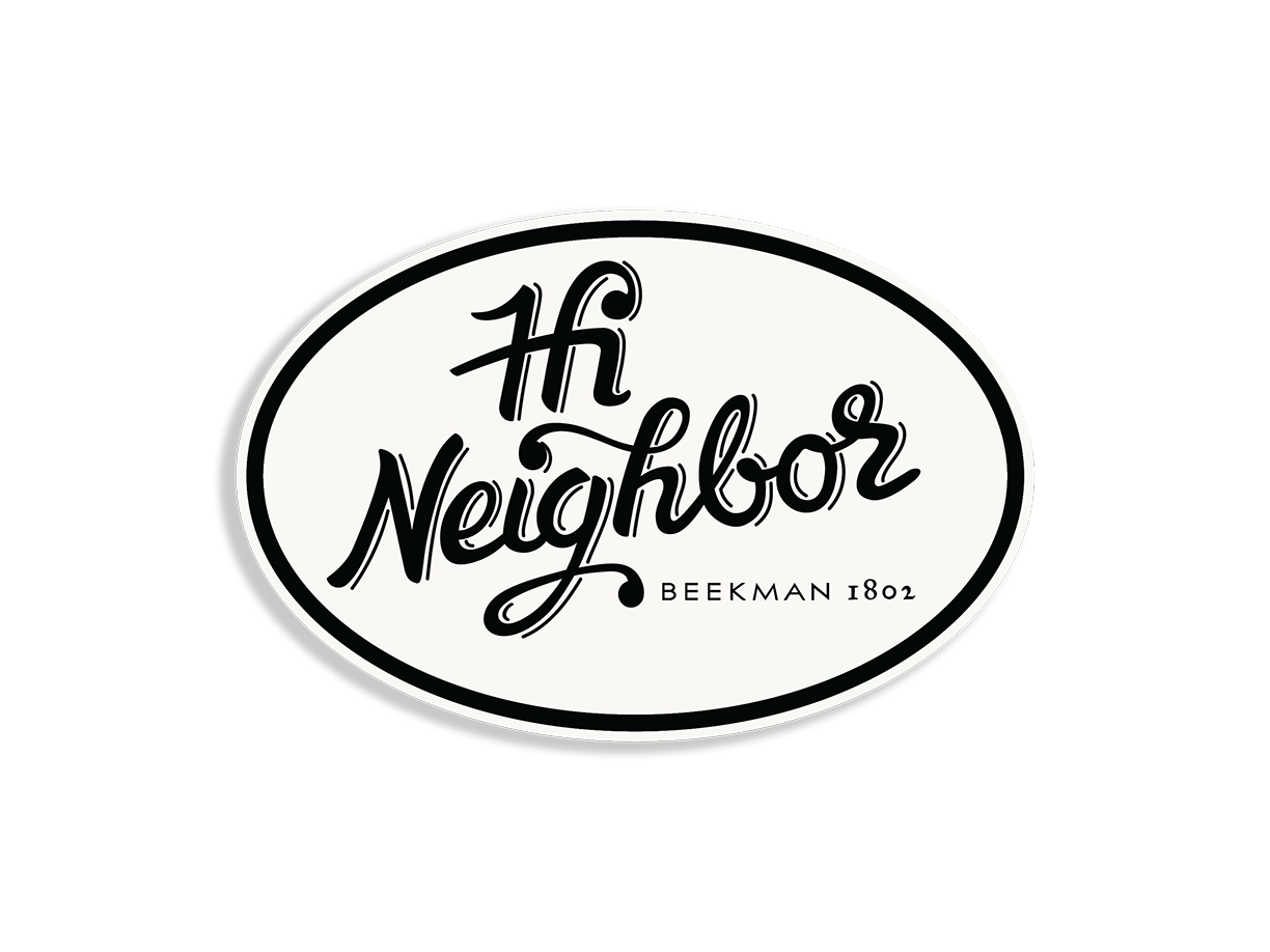 """Hi Neighbor"" Car Decal"