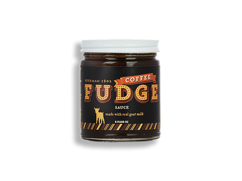 Coffee Goat Milk Hot Fudge