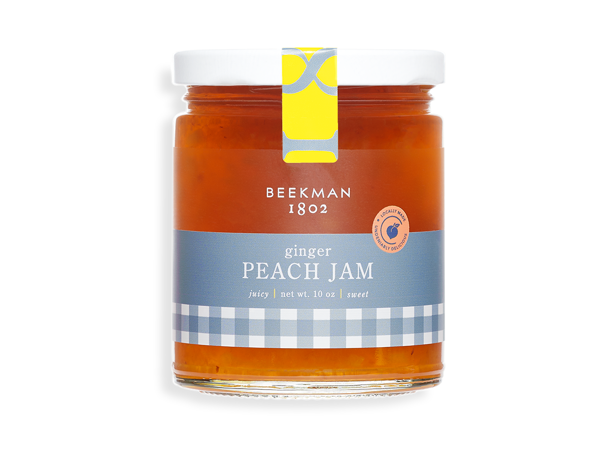 Ginger Peach Jam