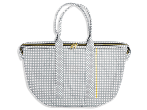 Carry All Large Satchel - Gingham Collection