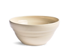 White Stoneware Mixing Bowl