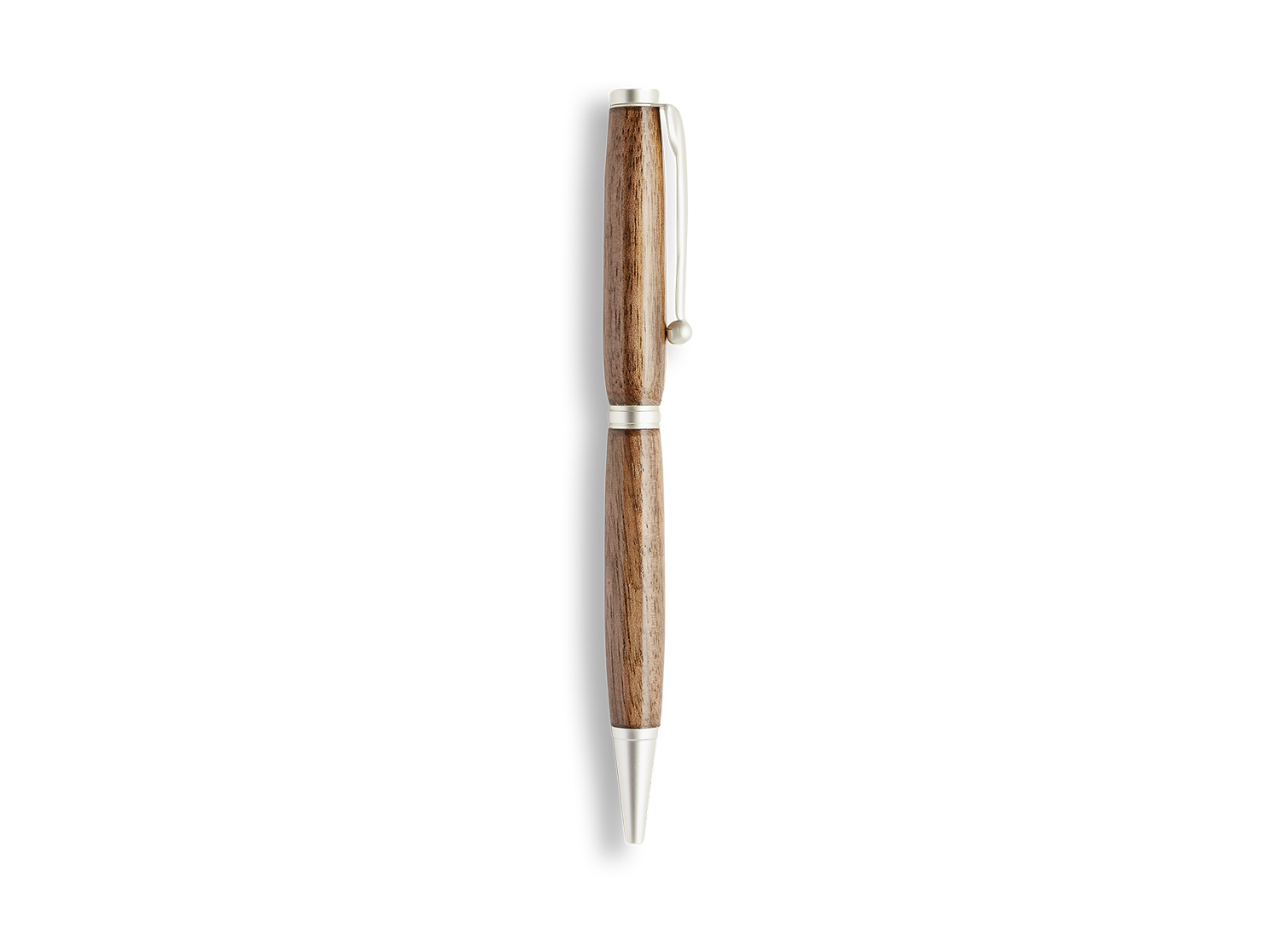 Black Walnut Hand-Turned Pen - Beekman 1802