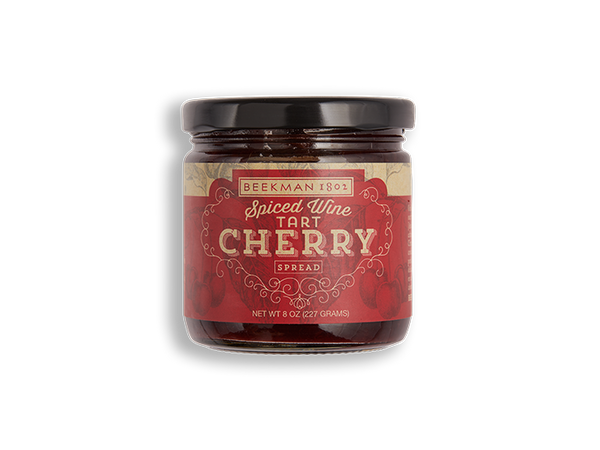 Spiced Wine Tart Cherry Spread