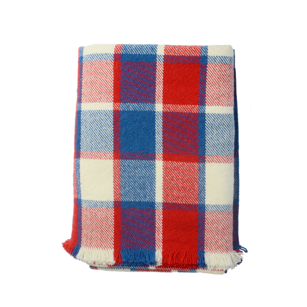 The All-American Plaid Blanket