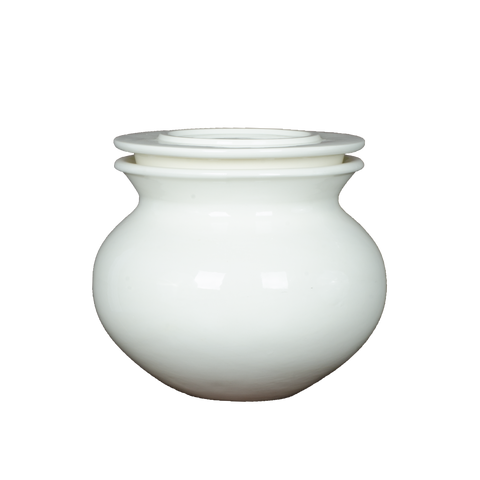 Porcelain Stackable Fermenting Pot