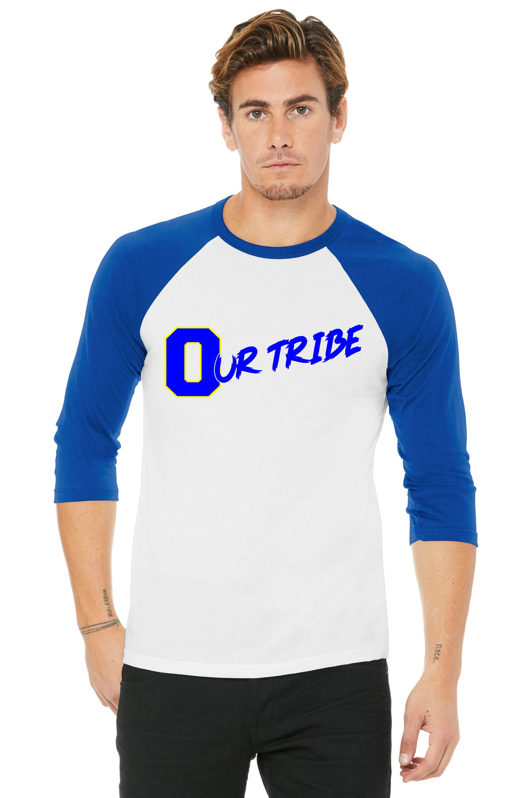 Our Tribe White and Blue Unisex