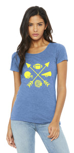 Football Warrior Arrows Women's