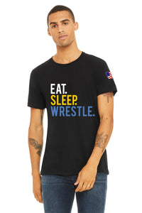 Eat Sleep Wrestle Unisex