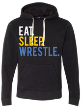 Load image into Gallery viewer, Eat Sleep Wrestle Hoodie